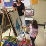 St Andrew's toddler_painting