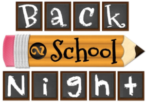 St. Andrew's Back to School Night