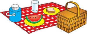 St. Andrew's Picnic 2 clipart