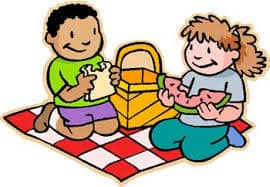 St. Andrew's Picnic 4 clipart